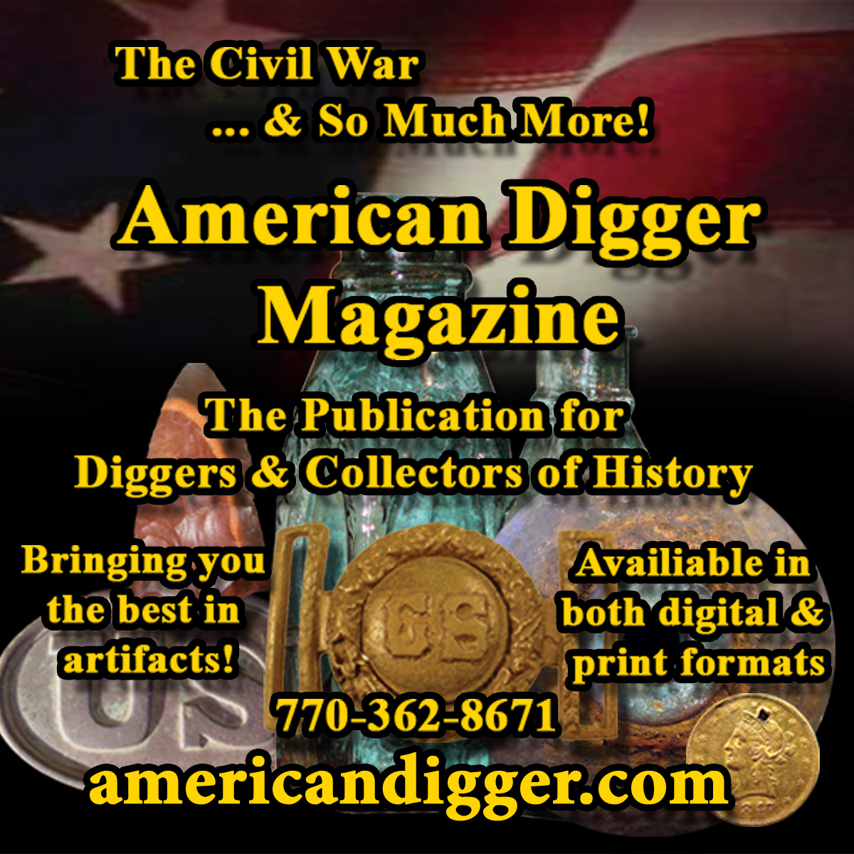 American Digger Magazine Subscriptions