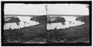 Dutch Gap Canal, James River, Virginia (vicinity). View of river from Confederate battery