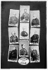 President and Cabinet: H. Hamlin, A. Lincoln, Edw'd Bates, E.M. Stanton, W.H. Seward, M. Blair, G. Welles, W.P. Fessenden, and J.P. Usher