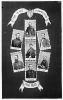Our Peace Commissioners for 1865: Sheridan, Grant, Sherman, Porter, Lincoln, Farragut, and Thomas