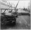 On deck of the U.S.S. Pawnee--off Charleston, S.C.