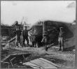 Bomb proof quarters in Fort Burnham