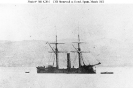 CSS Stonewall (1865)        At Ferrol, Spain, in March 1865.      The original print is mounted on a carte de visite.        Courtesy of the Naval Historical Foundation, Washington, D.C.        U.S. Naval Historical Center Phot