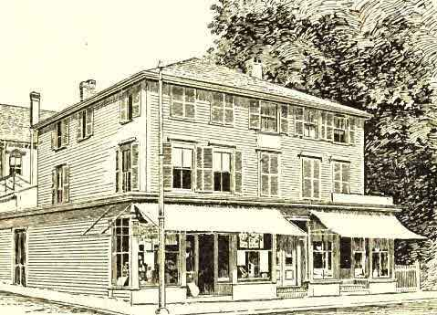 Birthplace of S.F.B. Morse, at Charlestown, Mass. Built 1775