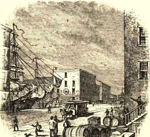 Scene of the First Bloodshed, at Baltimore