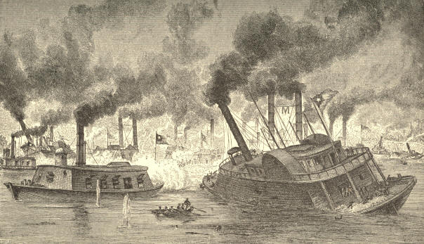 The Battle of the Rams at Memphis, June 6, 1862