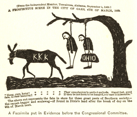 A Facsimile put in Evidence before the Congressional Committee