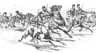 Union cavalry by Walton Taber